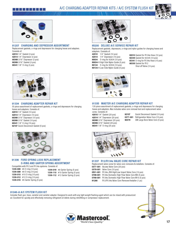 Mastercool International Catalog - English/Spanish by