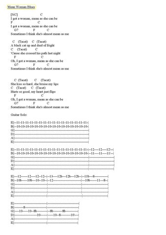 Elvis Presley 50\'s Guitar Chords & Tabs by Diego Forero - issuu