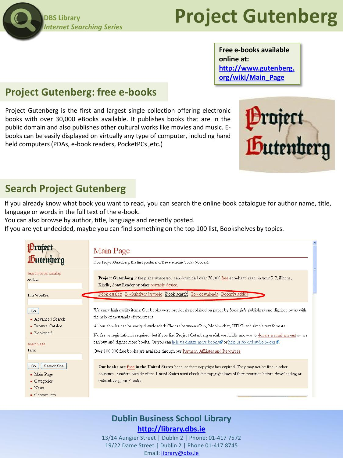 the project gutenberg Project gutenberg central - ebooks copyright © world library foundation all rights reserved ebooks from project gutenberg central are sponsored by the world.