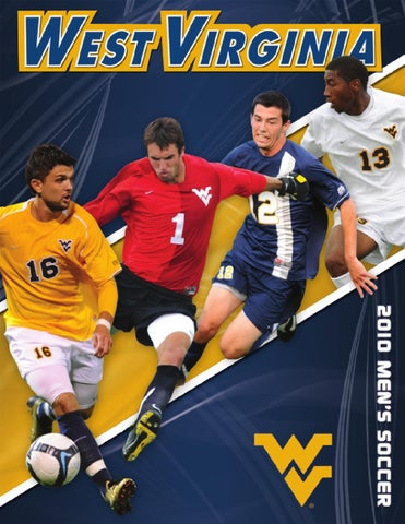 0a54ef378f2 2010 WVU Men s Soccer Guide by Joe Swan - issuu