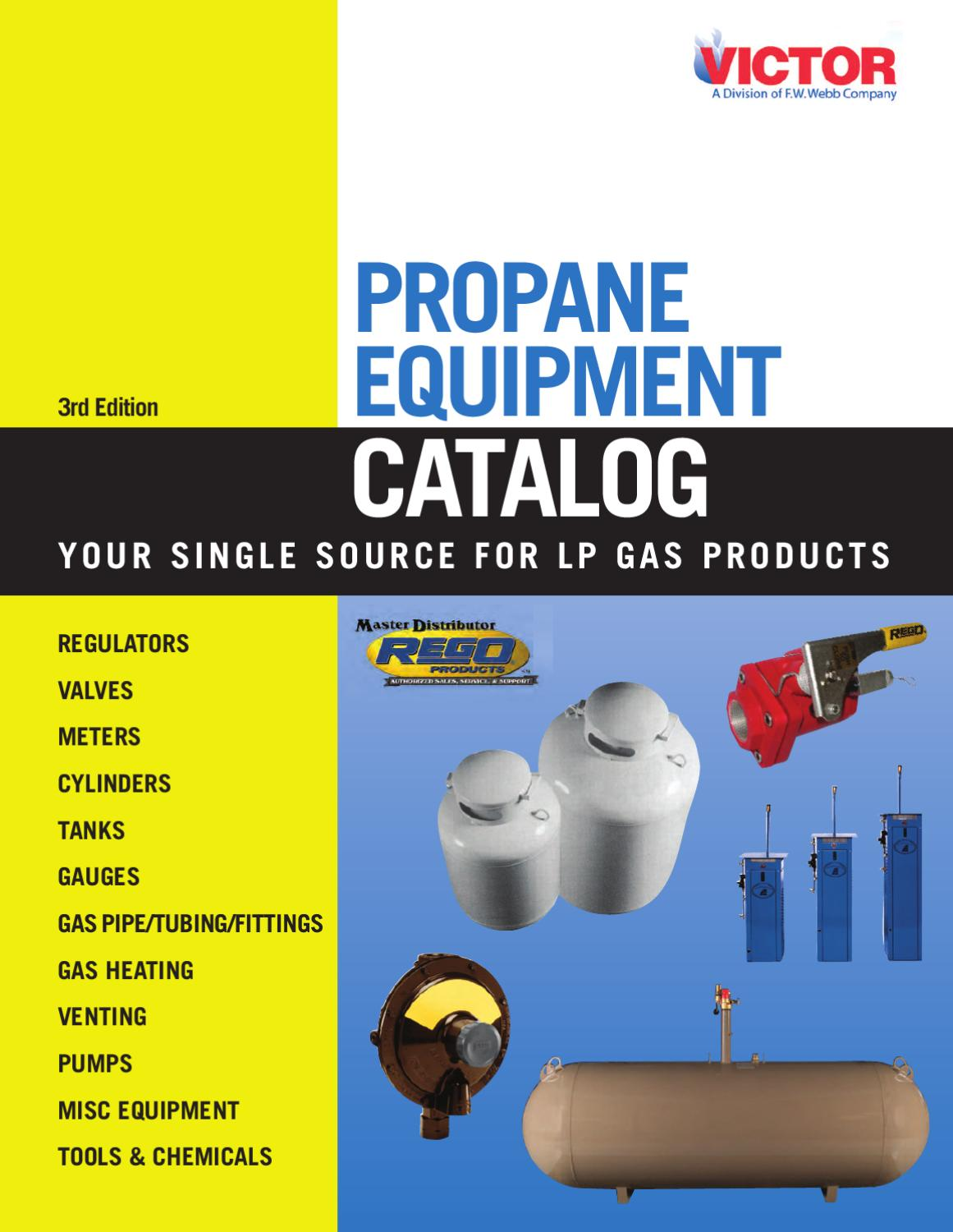 Victor Lp Gas Equipment Catalog By Fw Webb Company Issuu Fuel Filters