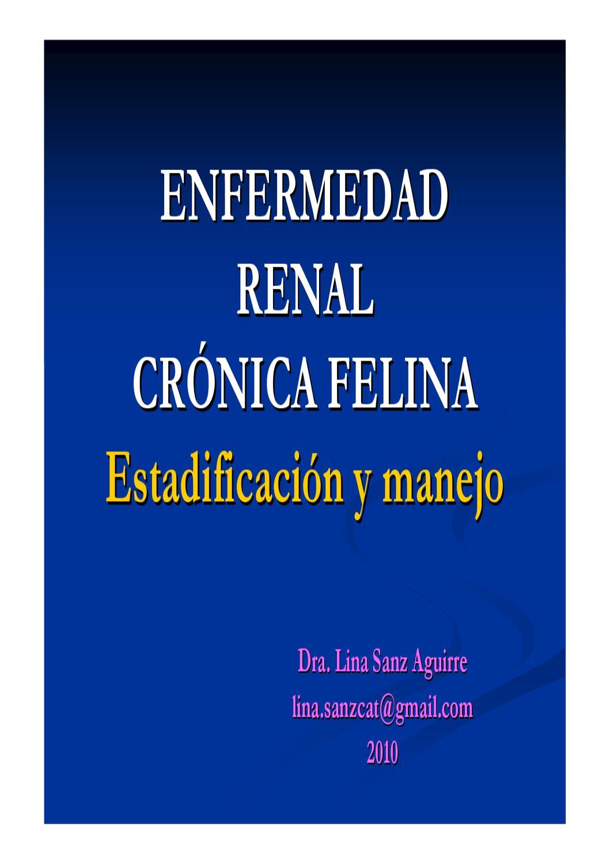 Enfermedad Crónica Renal Felina by mario migliorati - issuu