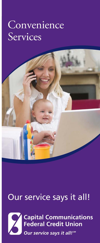 Convenience Services Final by CAP COM Federal Credit Union