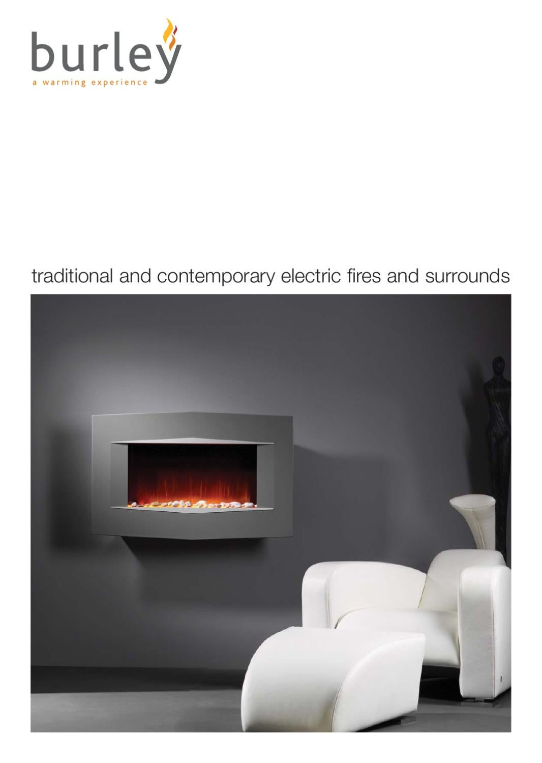 burley electric fires brochure by fires fireplaces stoves issuu