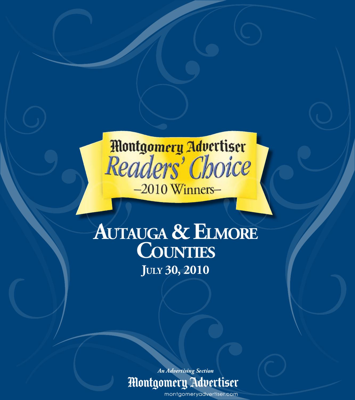 Autauga & Elmore Edition By