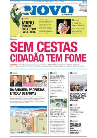 10-08-2010 by Novo Jornal - issuu 32cf5e9ad3ca5