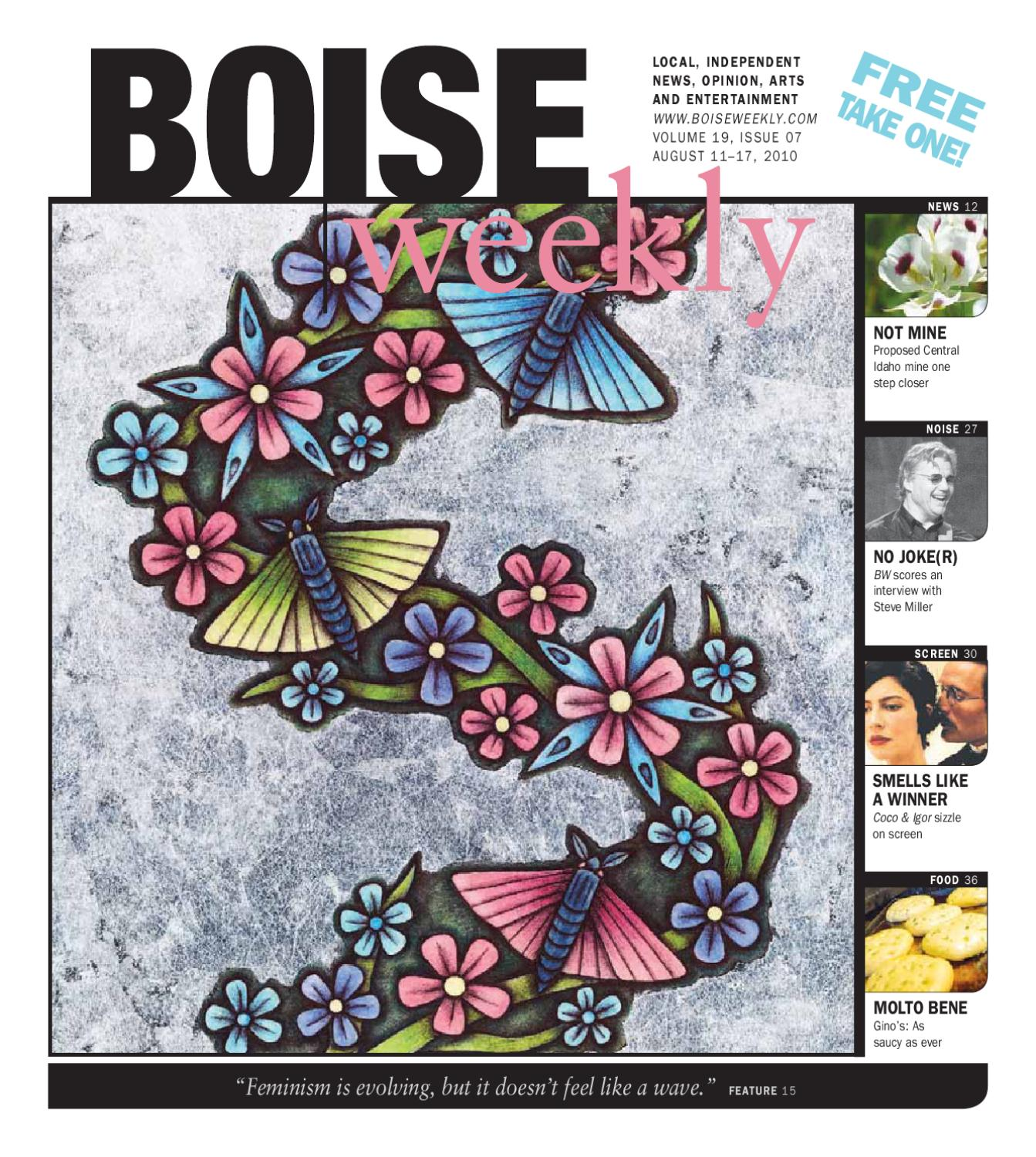 Boise Weekly Vol 19 Issue 07 By