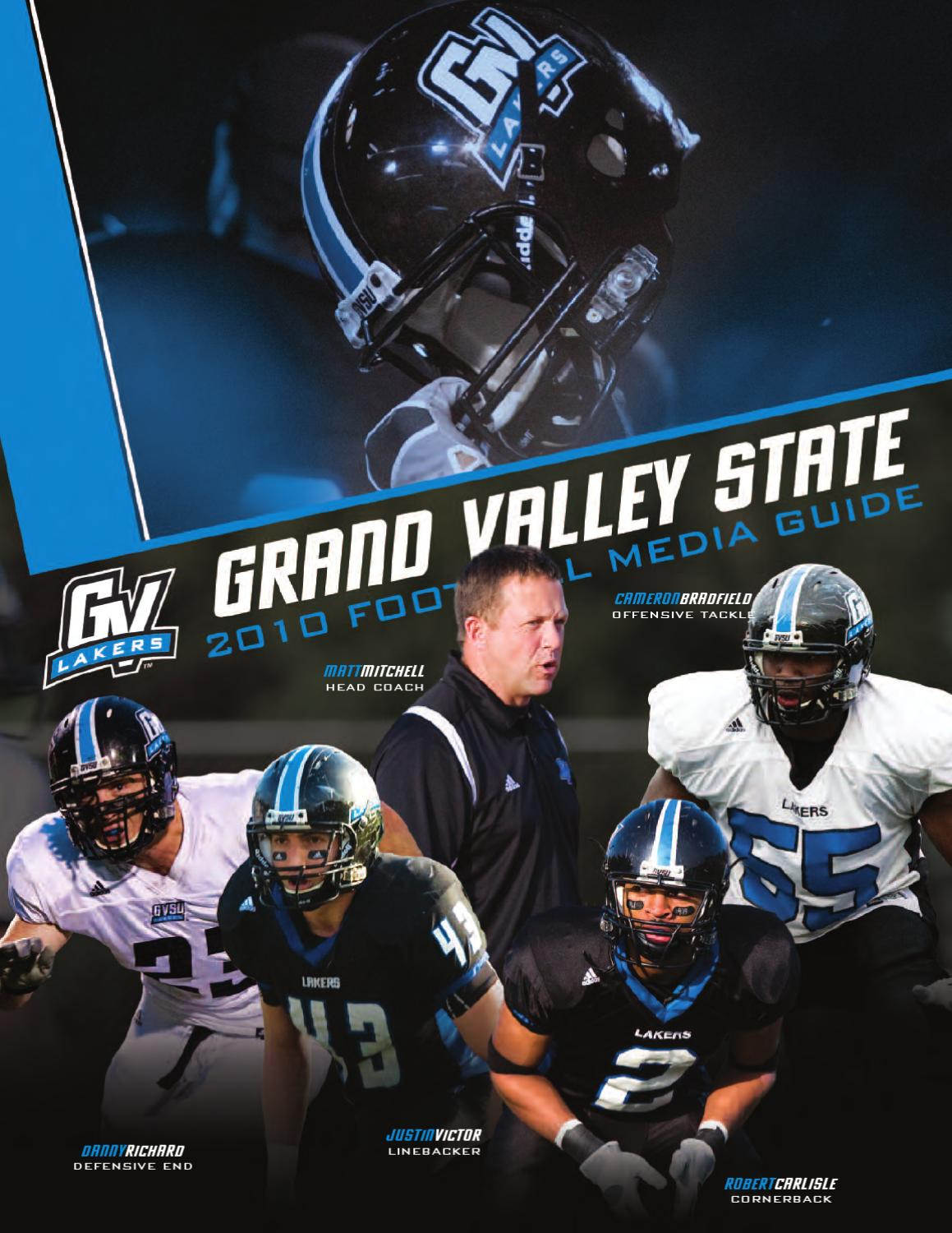 GVSU Football Media Guide by Grand Valley State Lakers - issuu