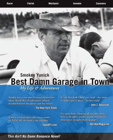 Best Damn Garage in Town: The World According to Smo ...