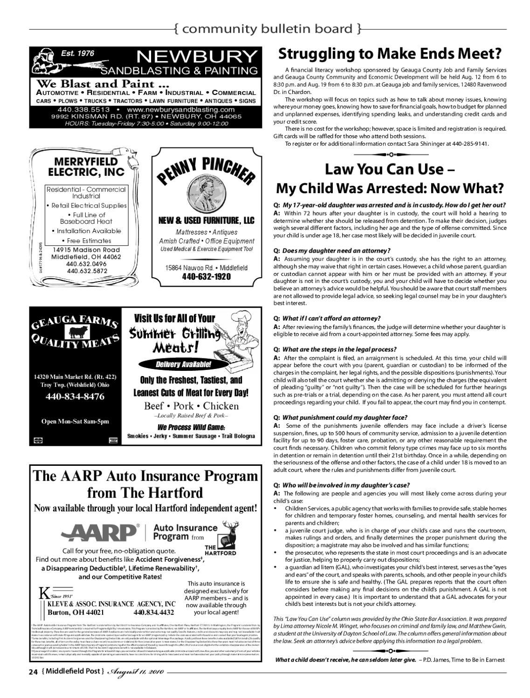 Middlefield Post August 11th, 2010 by Scott Jones - issuu