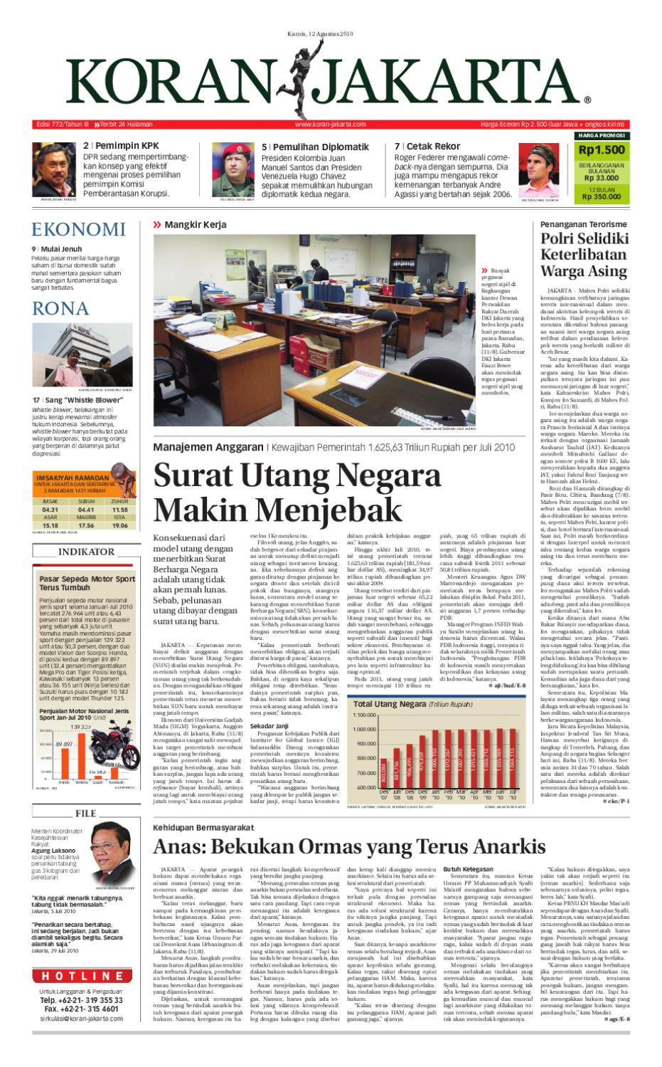 Edisi 772 12 Agustus 2010 By Pt Berita Nusantara Issuu Produk Ukm Bumn Box Hantaran Pengantin Bio Art