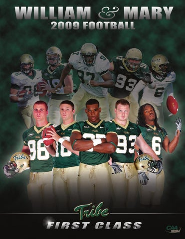 1127dd8c79f 2009 Tribe Football Media Guide by College of William and Mary - issuu