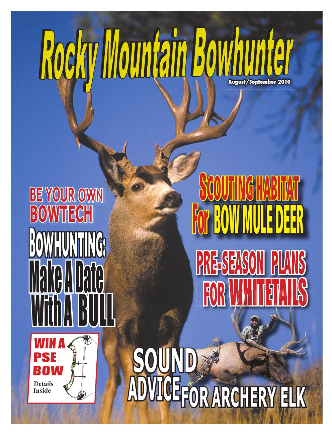 Rocky Mountain Bowhunter by Amy Haggerty - issuu