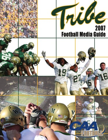 3a6d664acd5 2007 Tribe Football Media Guide by College of William and Mary - issuu