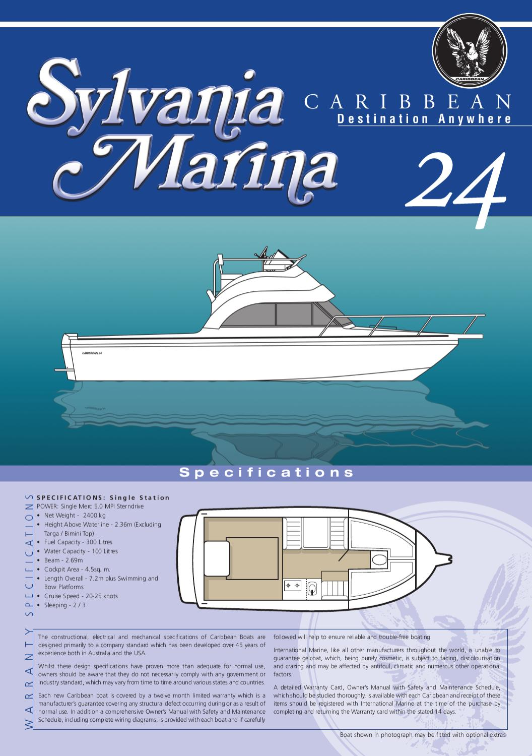 caribbean range by myboatingshop com issuuBoat Station Wiring Diagram For Two #13