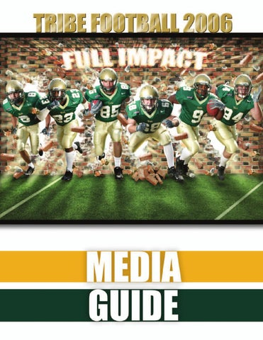 ff393cd05ac 2006 Tribe Football Media Guide by College of William and Mary - issuu