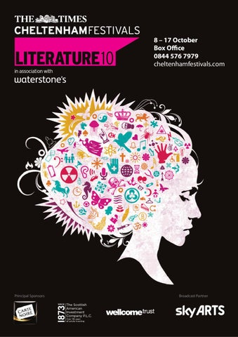The Times Cheltenham Literature Festival Brochure 2010 By Cheltenham