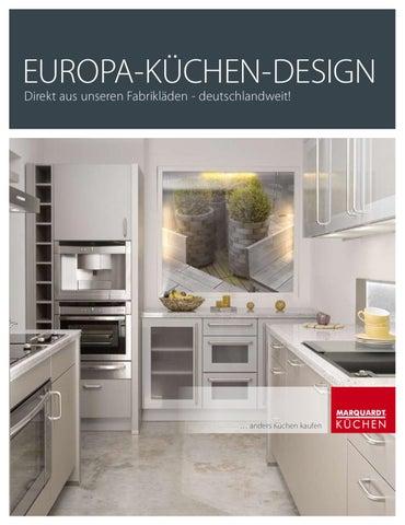 marquardt kuchen erfahrungsbericht, europa-küchen-design by marquardt küchen - issuu, Design ideen
