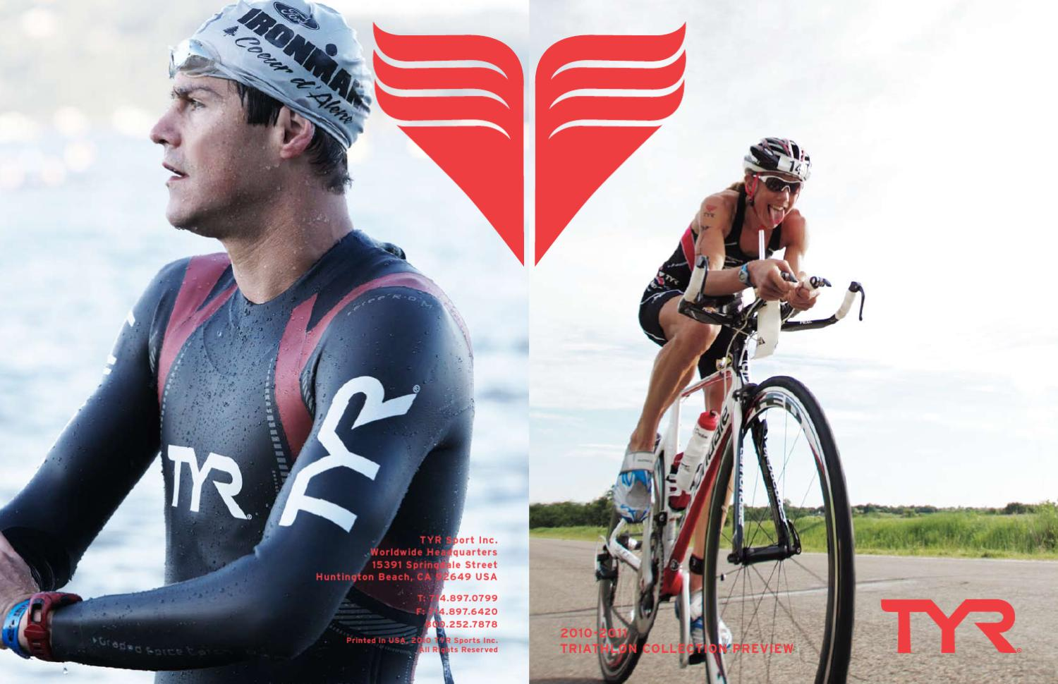 0b091e882 TYR Triathlon Collection Preview Catalog by TYR Sport - issuu