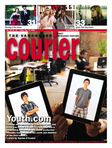 01d8958f13 Vancouver Courier August 13 2010 by Postmedia Community Publishing ...