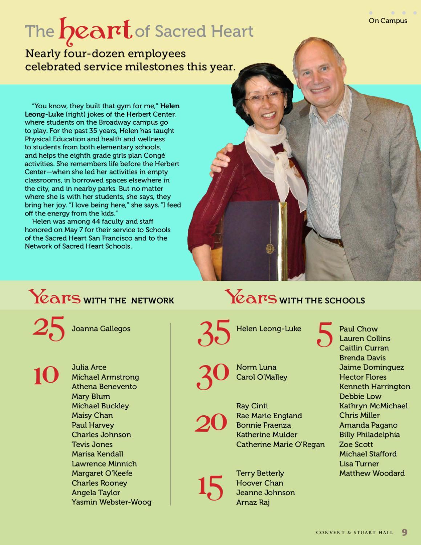 Summer Bulletin 2010 by Convent & Stuart Hall - issuu
