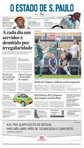 eaf640a6a1 O Estado de SP em PDF - Segunda 02082010 by Carlos Silva - issuu