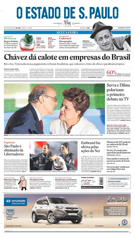 O Estado de SP em PDF - Sexta 06082010 by Carlos Silva - issuu 9b04c627324