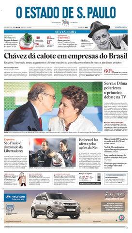 O Estado de SP em PDF - Sexta 06082010 by Carlos Silva - issuu 5fa6b2ea53ae7