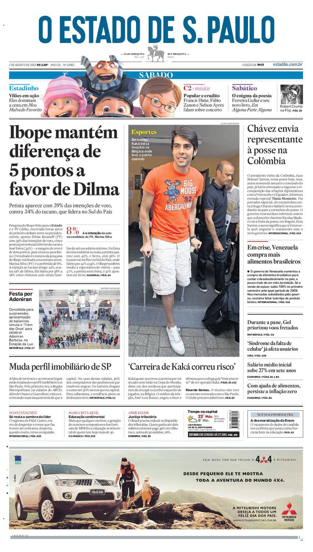 O Estado de SP em PDF - Sabado 07082010 by Carlos Silva - issuu 12a3908bce