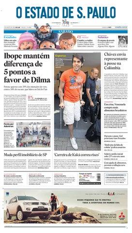O Estado de SP em PDF - Sabado 07082010 by Carlos Silva - issuu 41aa2b9d0d923
