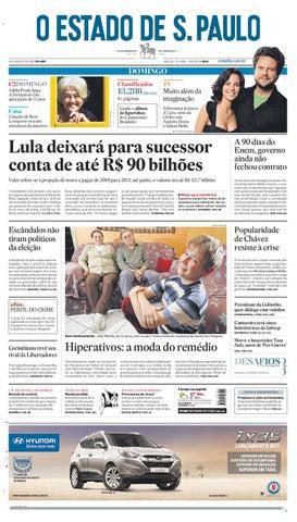 O Estado de SP em PDF - Domingo 08082010 by Carlos Silva - issuu 4df636c173892