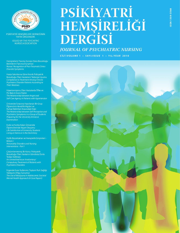 Psikiyatri Hemsireligi Dergisi Journal Of Psychiatric Nursing By