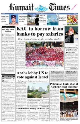 16 Aug by Kuwait Times - issuu