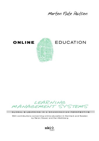 Online education and learning management systems by morten flate page 1 fandeluxe Choice Image