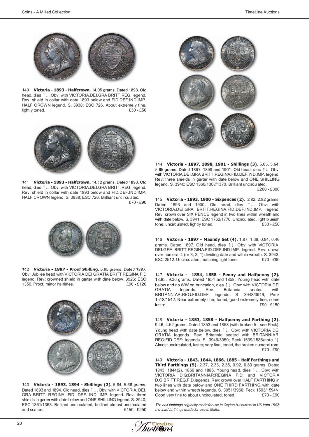 TimeLine Auctions - Coins Catalogue by Daniel Riddick - issuu