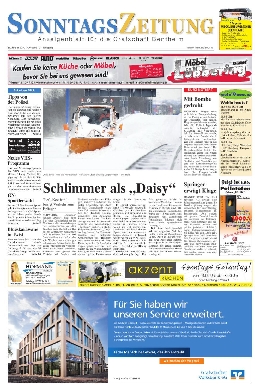 5SonntagsZeitung_31.01.2010 by SonntagsZeitung - issuu