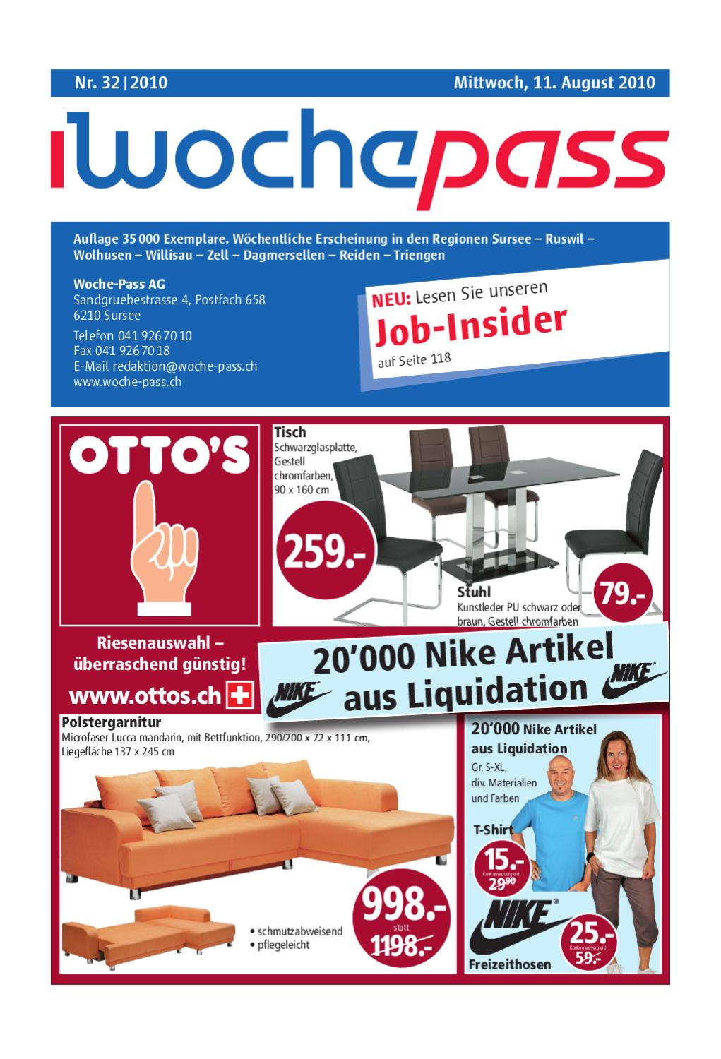 Woche Pass | KW32 | 11. August 2010 by Woche Pass AG issuu