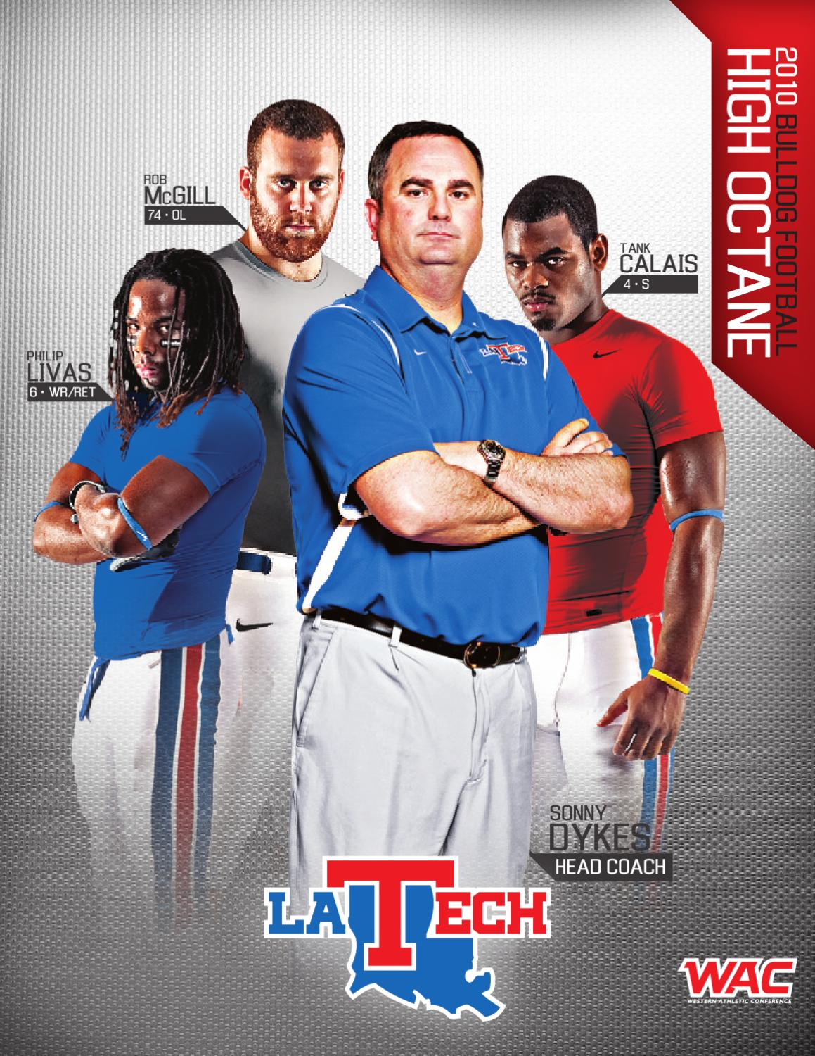 098421be2 2010 Louisiana Tech Football Media Guide by Louisiana Tech Athletics - issuu