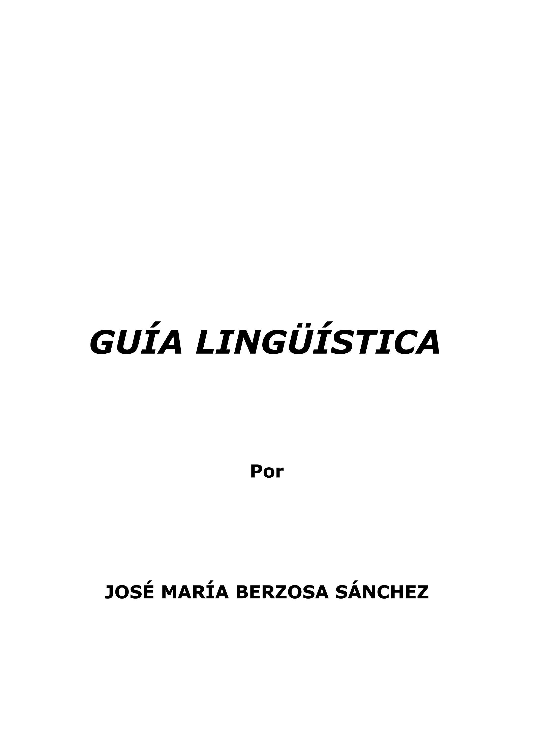 GUÍA LINGÜÍSTICA by Pepe Aranda - issuu 1ff5c3db8001a