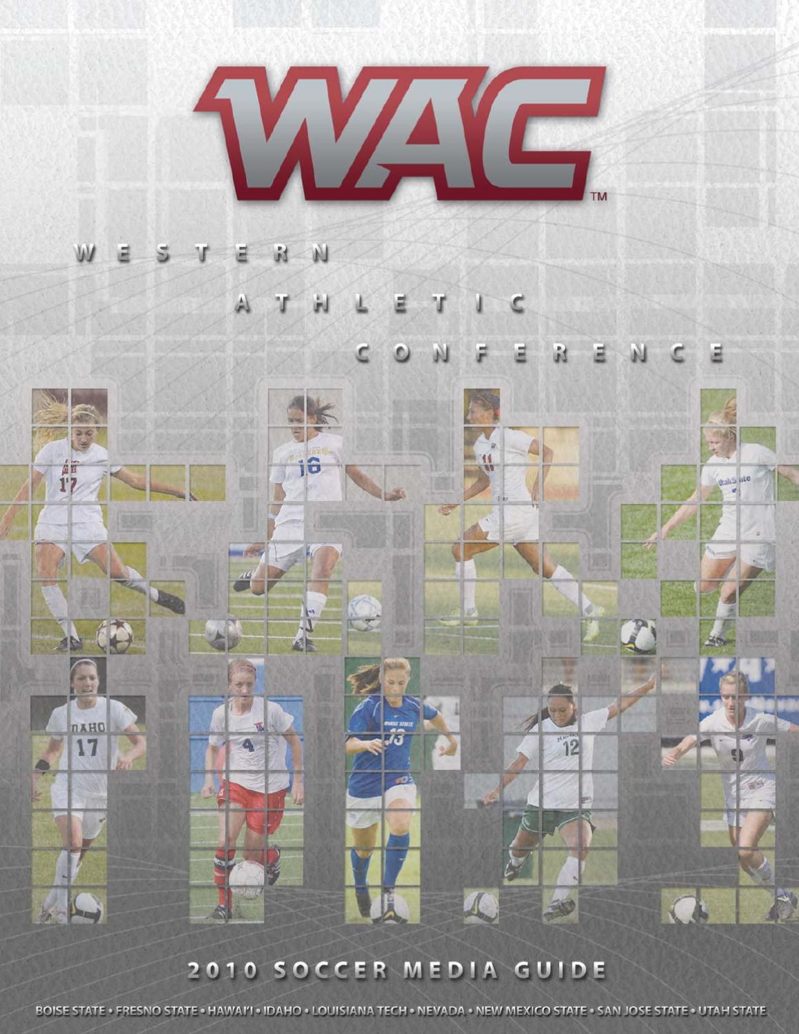 2010 WAC Soccer Media Guide by Western Athletic Conference - issuu ff51eee31d875