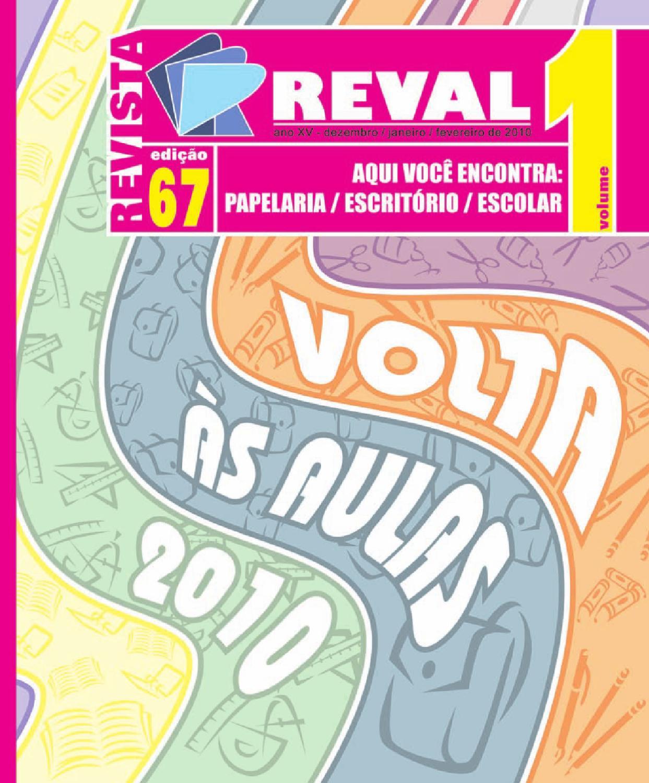 497f8b7de4 reval revista 67 volume1 by Reval Atacado de Papelaria Ltda. - issuu