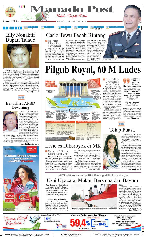 manado post 29 agustus 2010 by manado post issuu