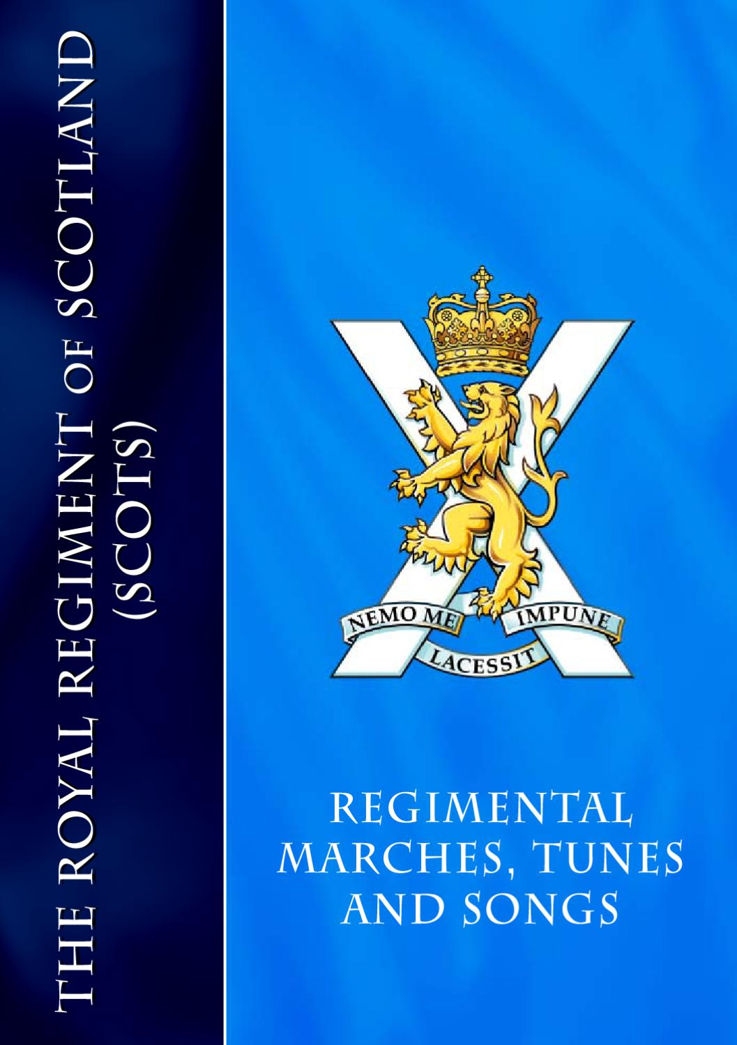 Regimental Music Handbook by The Royal Regiment of Scotland