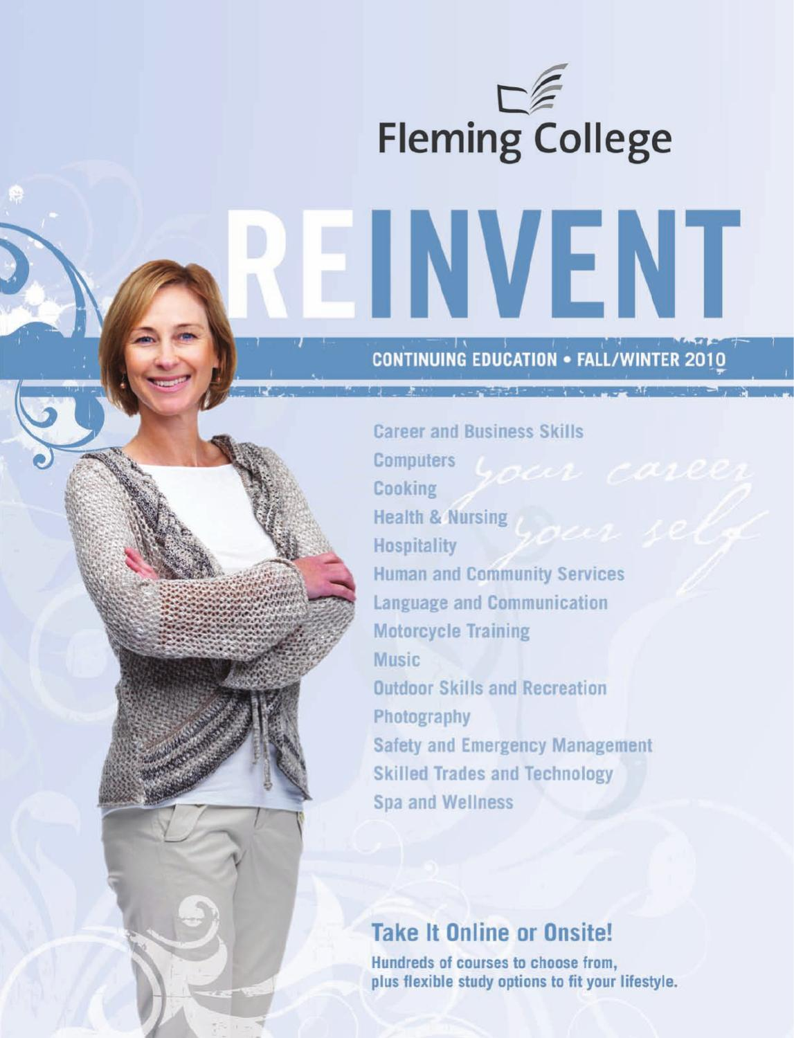 Fleming College Continuing Education By Issuu Wiring Diagrams