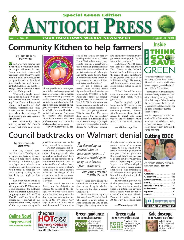604edb3f8a Antioch Press 08.20.10 by Brentwood Press   Publishing - issuu
