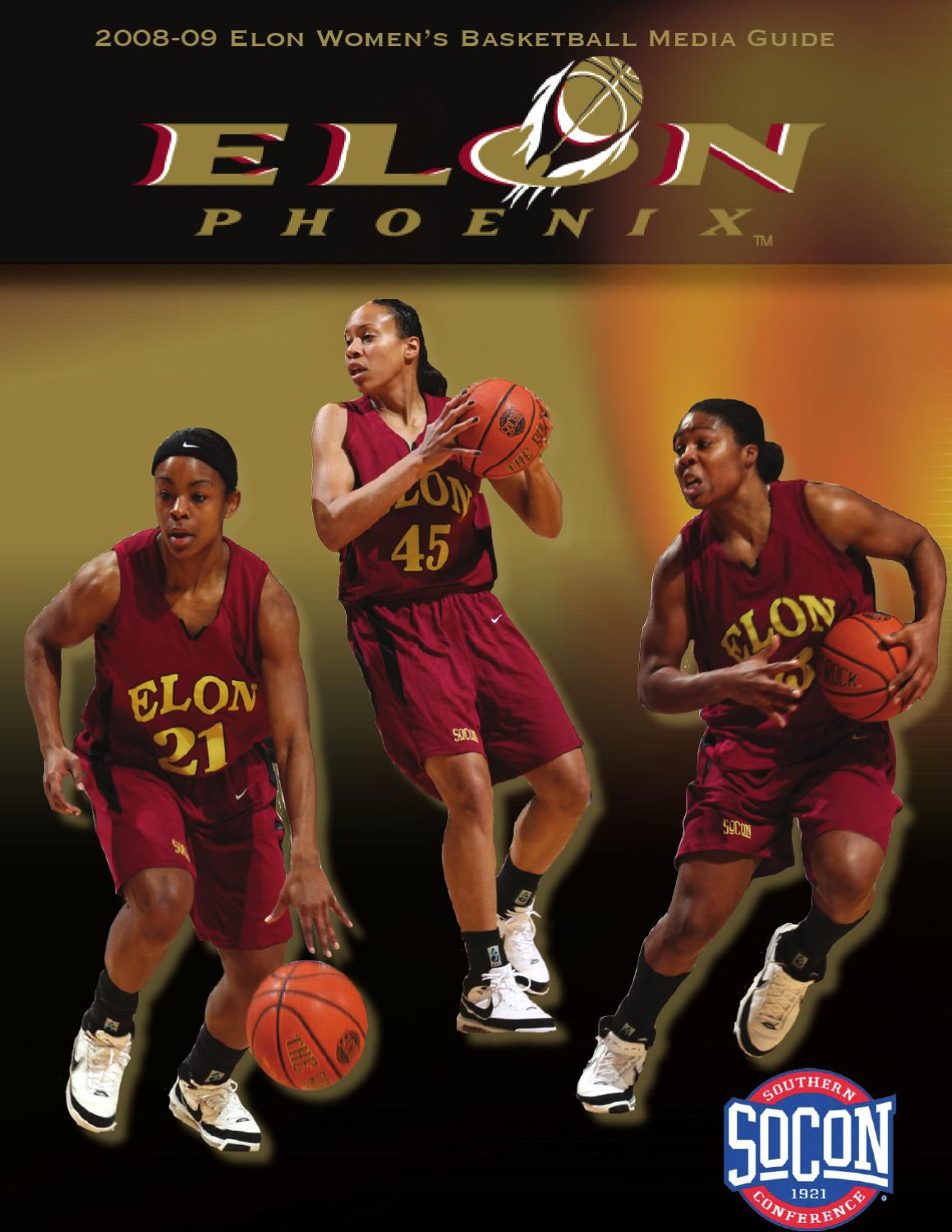 quality design 100f1 b26d2 Elon Women s Basketball Media Guide 2008-2009 by Chris Rash - issuu