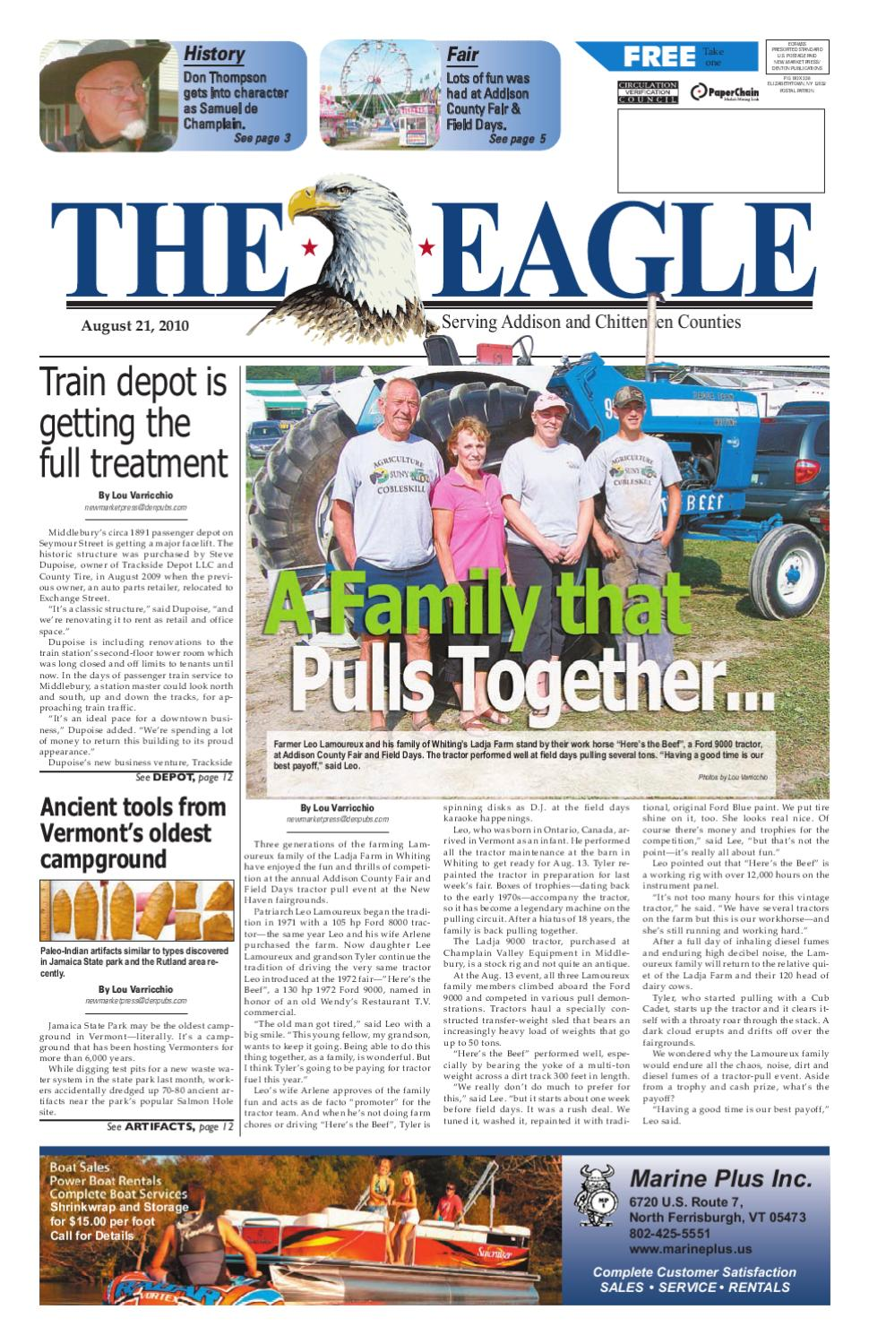 The Eagle 08-21-2010 by Sun Community News and Printing - issuu