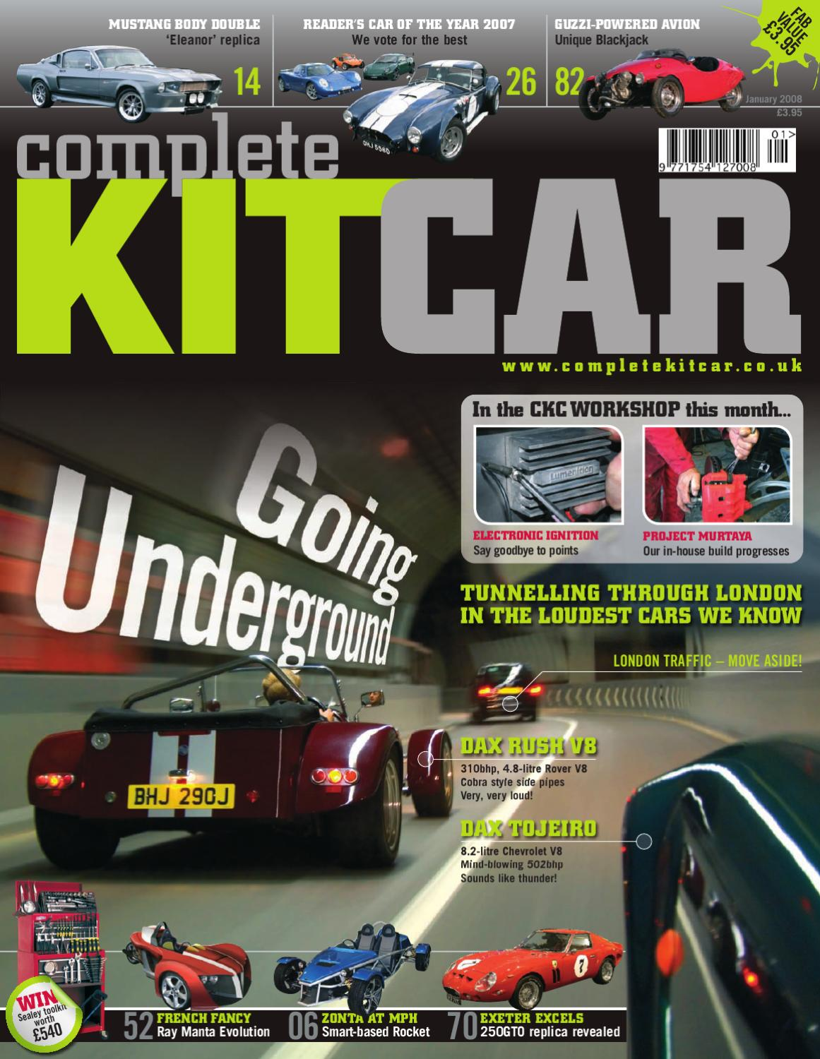 Complete Kit Car Magazine January 2007 Sample By Performance 3mm Multi Way Motorhome Wiring Harness Loom Connectors Publishing Ltd Issuu