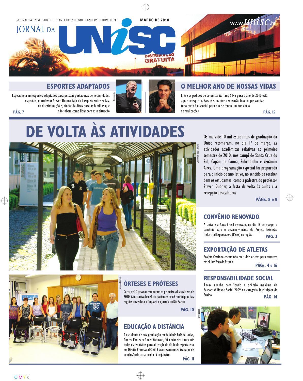 a85f88303 Jornal da UNISC by UNISC Santa Cruz do Sul - issuu