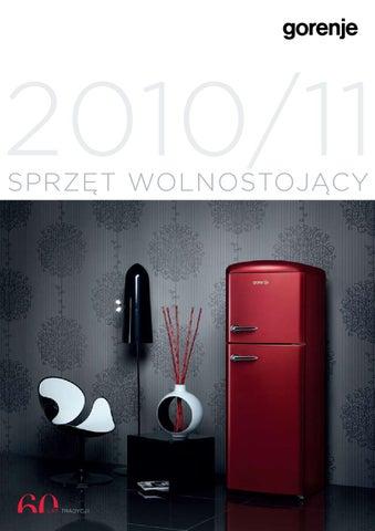 Katalog Gorenje Sprzet Wolnostojacy 2010 2011 By Gorenje D D Issuu